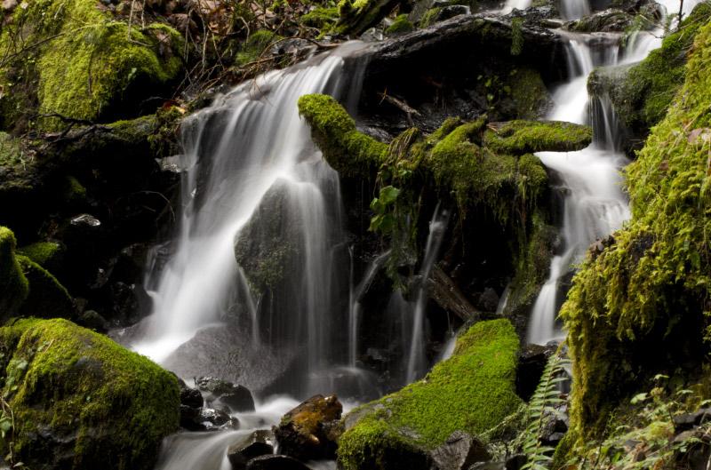 Beautiful Falls at DryCreek