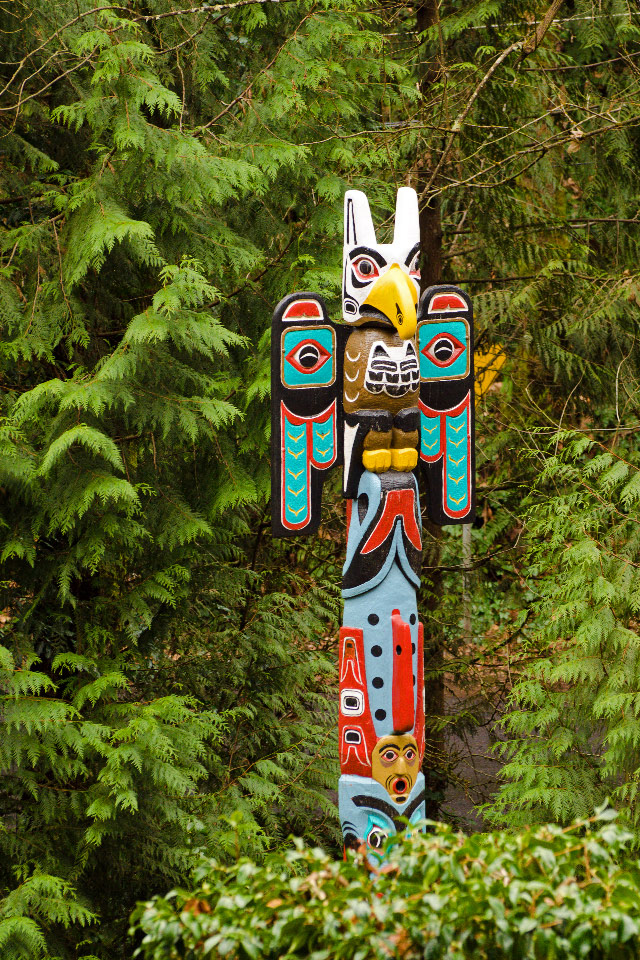 Totem Pole near the Marquam Trail