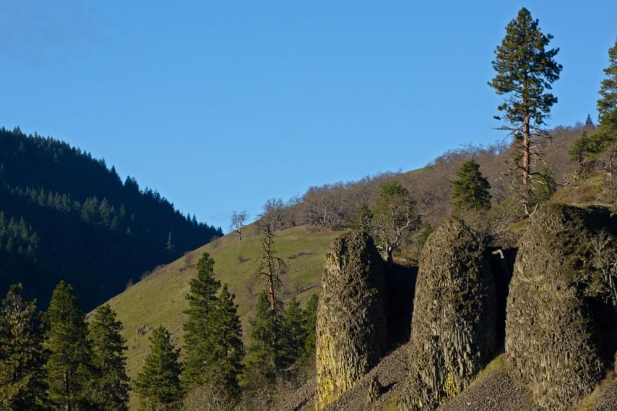 Remnants of Rimrock Cliffs