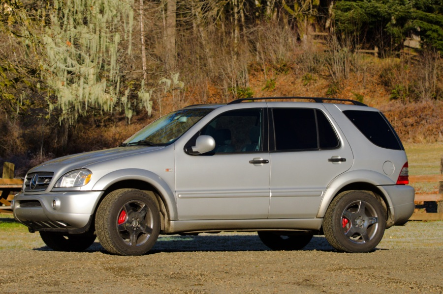 225,000 mile AMG - - - What a wilderness vehicle
