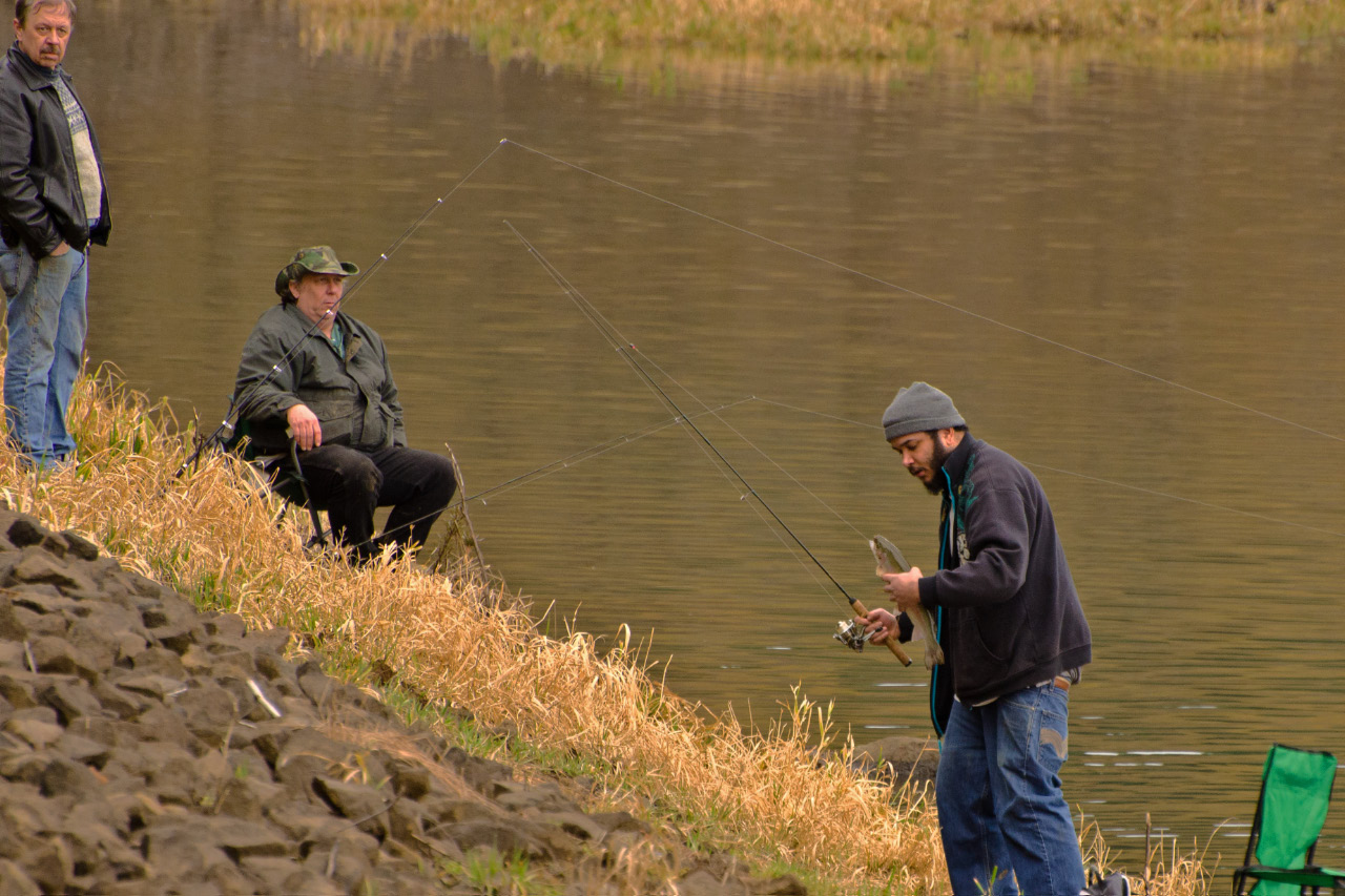 Trout fishing in henry hagg john carr outdoors for Henry hagg lake fishing