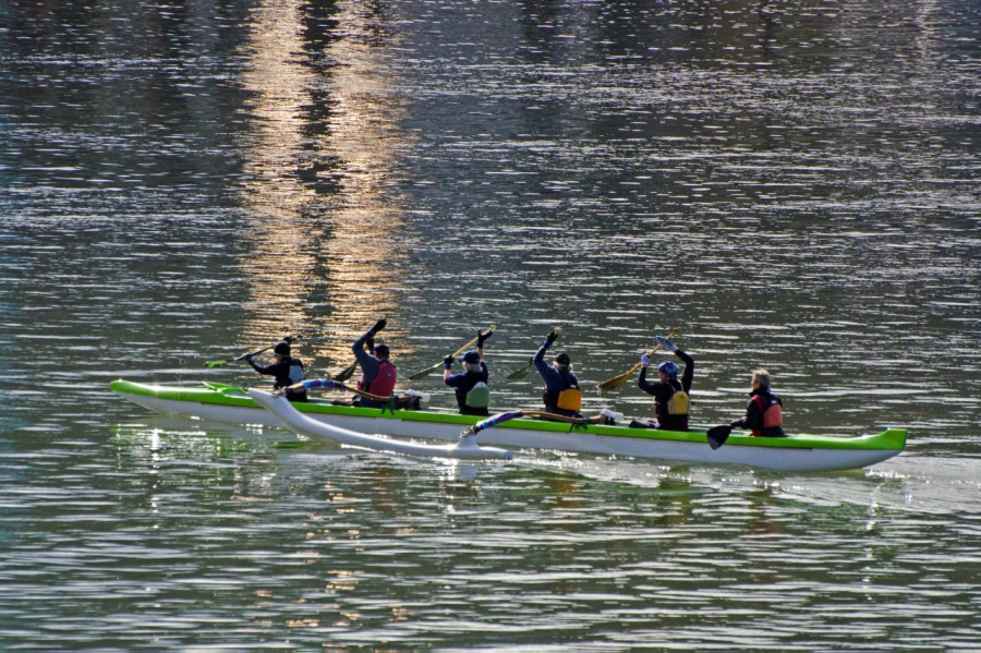 Exercise on the Willamette