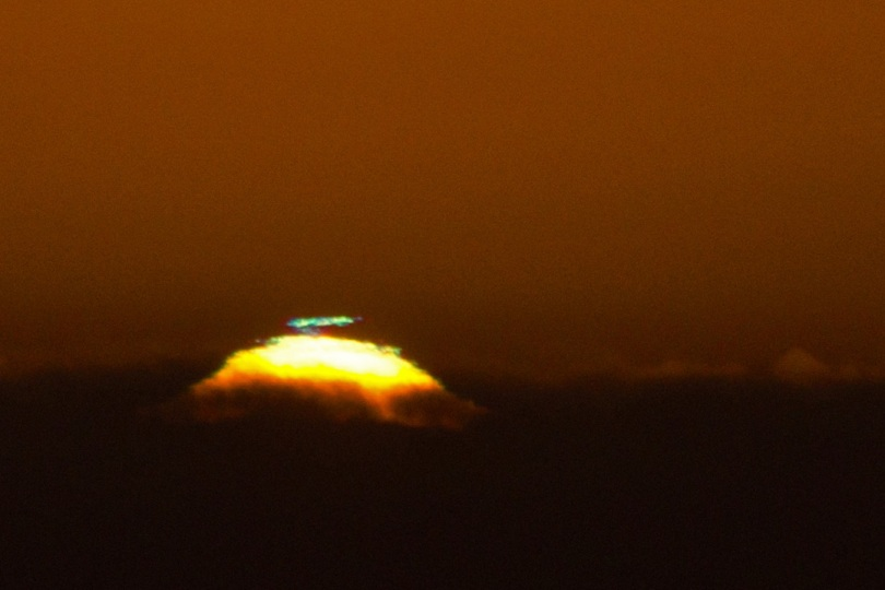 A closer look at the Green Flash