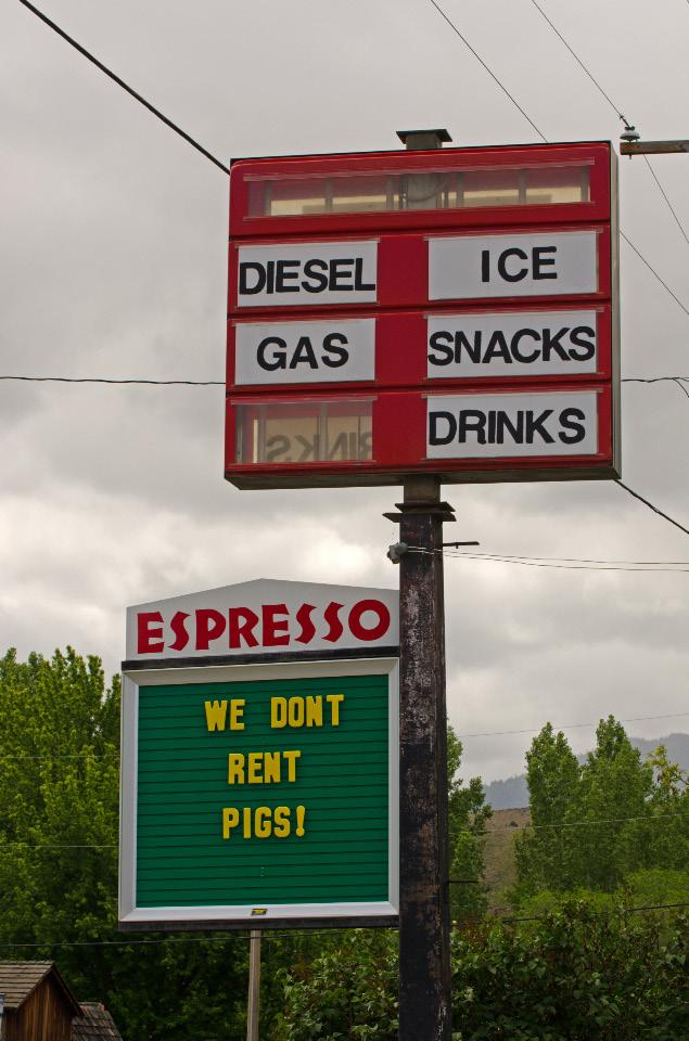 Dayville Gas Station