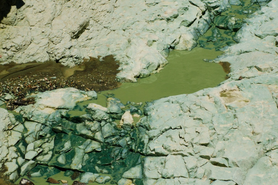 Creek in Blue Basin