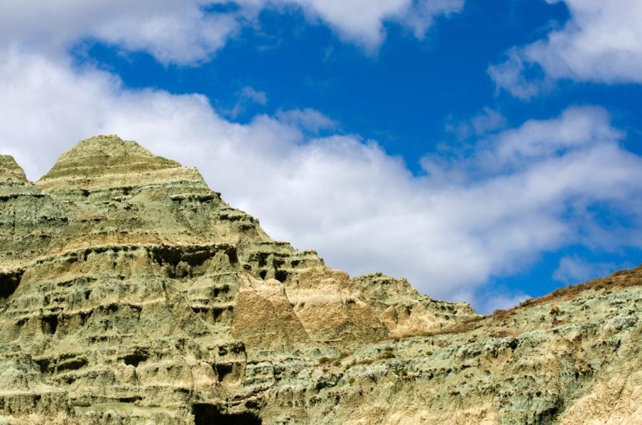 Upper cliffs of Blue Basin