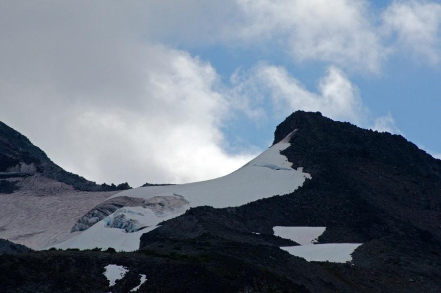 Small glacier on Mt. Jeffererson