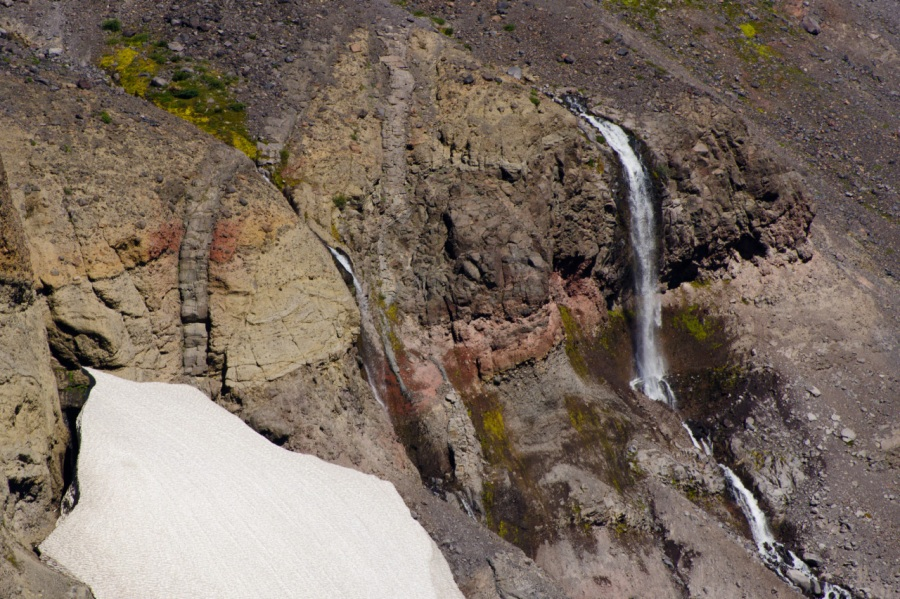 Waterfall at 7,000 feet