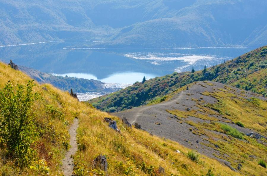 Boundary Trail leading to Spirit Lake