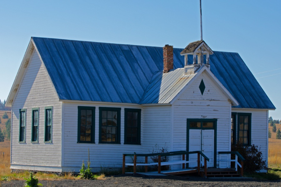 One-room Schoolhouse at Friend