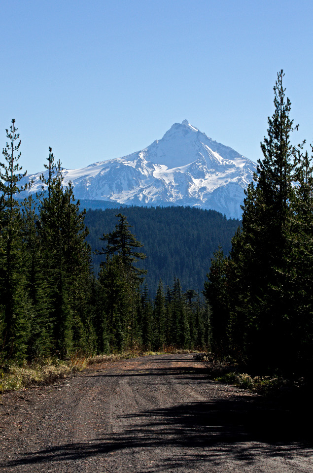 Mt. Jefferson from the trailhead