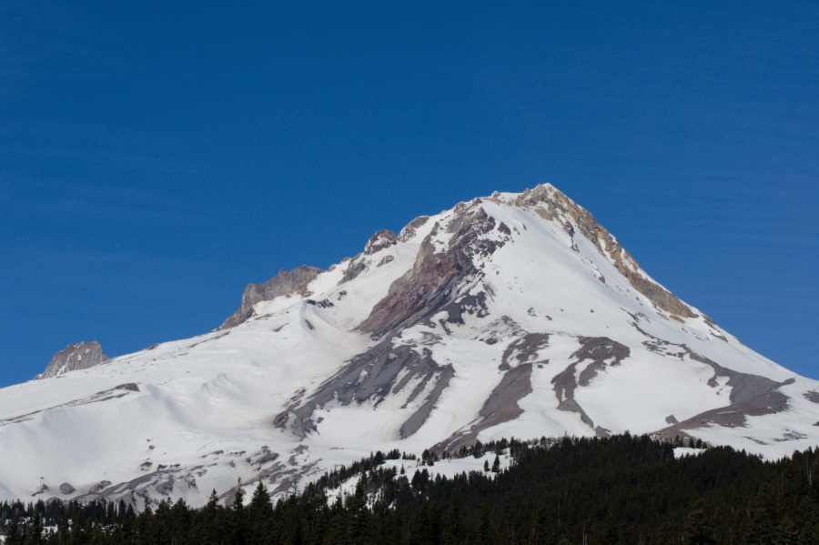 Southeast view of Mt. Hood