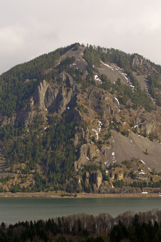 Wind Mountain across the Columbia RIver