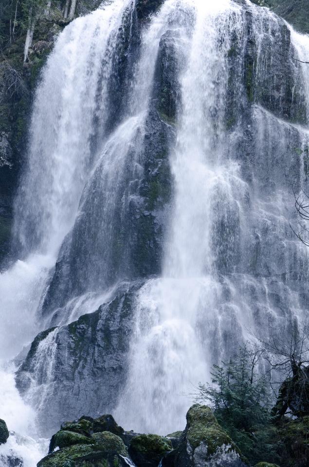 Middle Falls Creek Falls