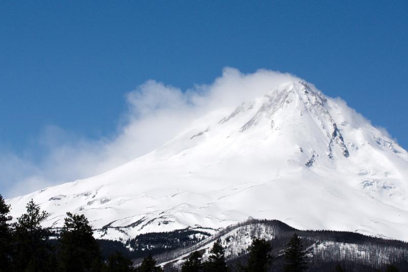 Storm on Mt. Hood