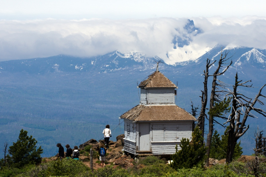 Cupola on summit of Black Butte