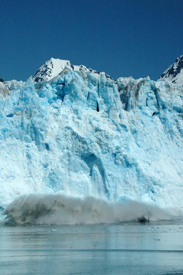 """Glacier """"calving"""""""