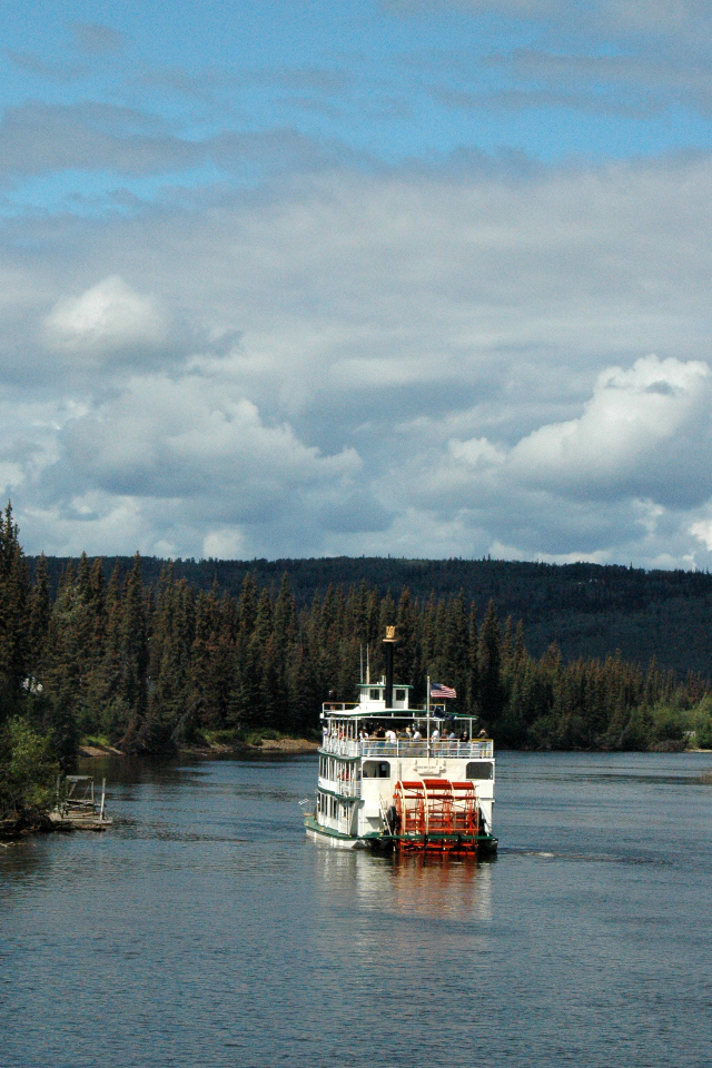 Riverboat on the Chena River