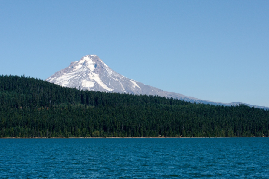 Mt. Hood over Timothy Lake