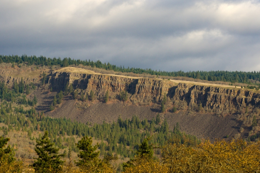 Coyote Wall, a great example of the Missoula Floods' impacts