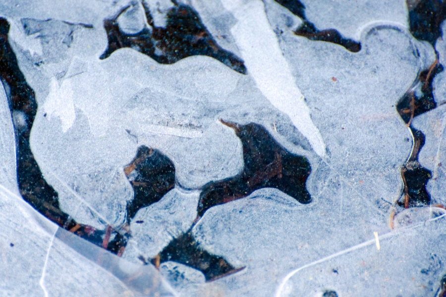 Formations in the ice