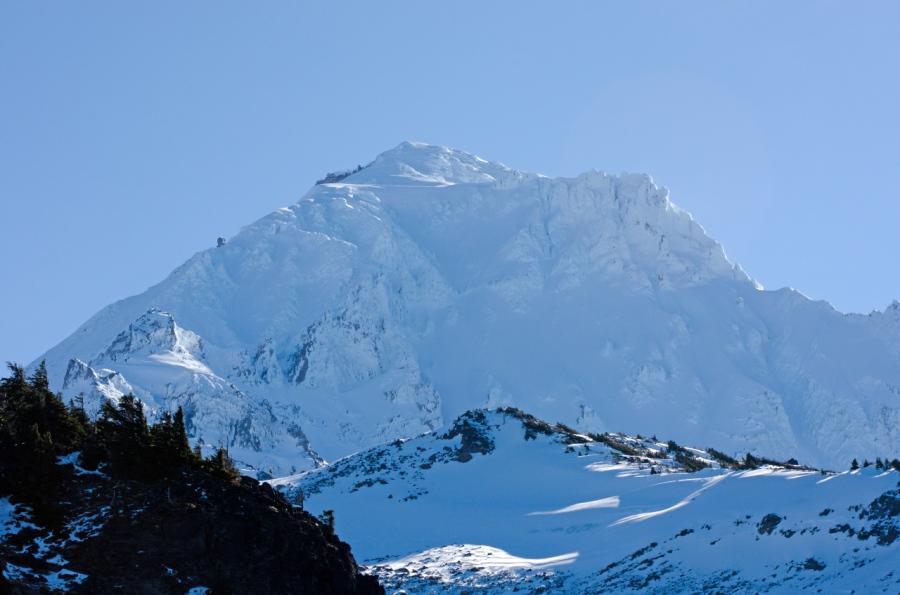 Mt. Hood over McNeil Spur