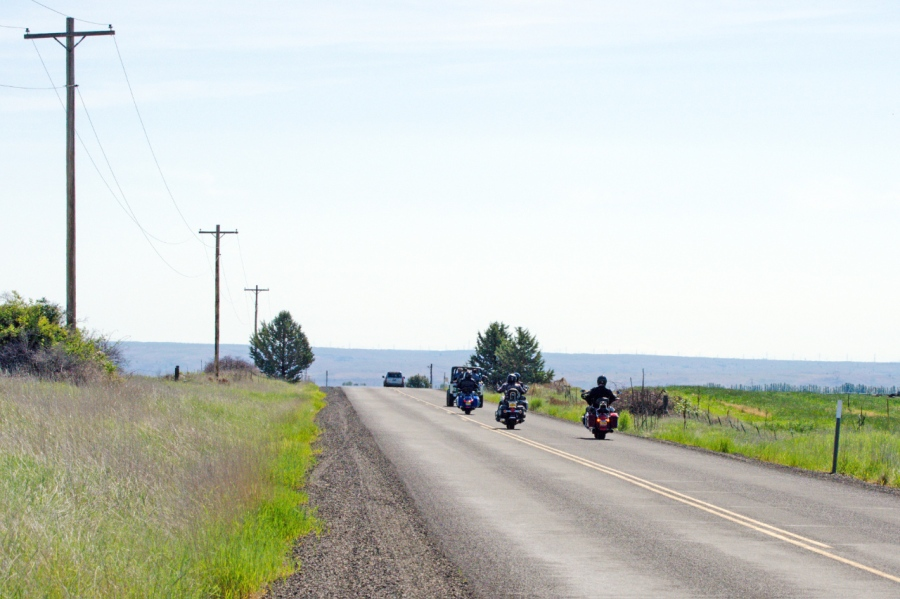 Travelers enjoying the open spaces of Central Oregon