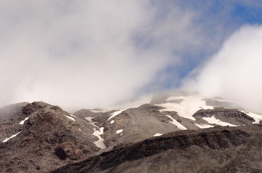 Upper flanks of Mt. St. Helens