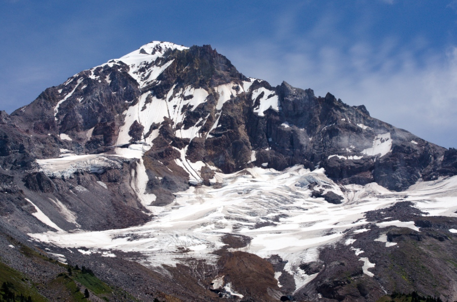 Sandy Glacier on Mt. Hood