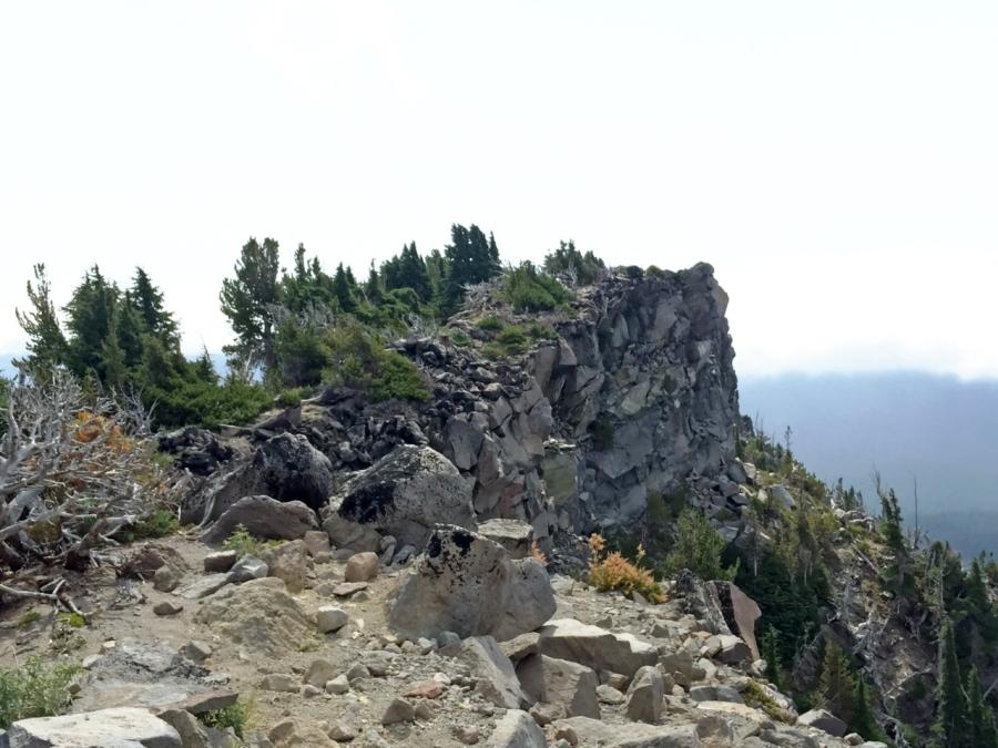 Rocky Summit of Lamberson Butte
