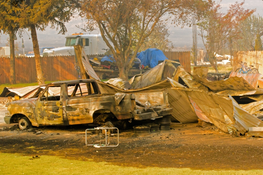 Another causality of the wildfire