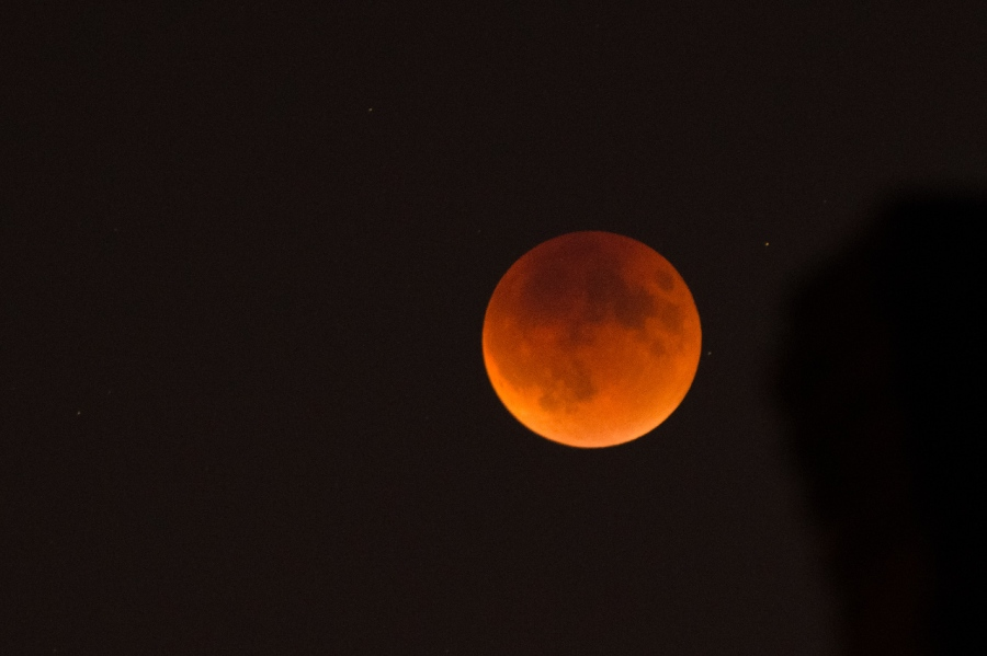 The last Blood Moon for the next 18years
