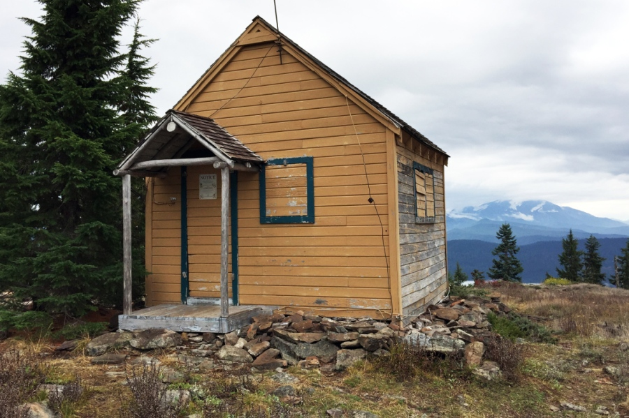 Old Fire Lookout Building