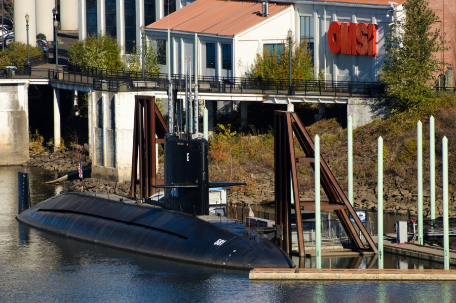 The sub used in the Hunt for Red October