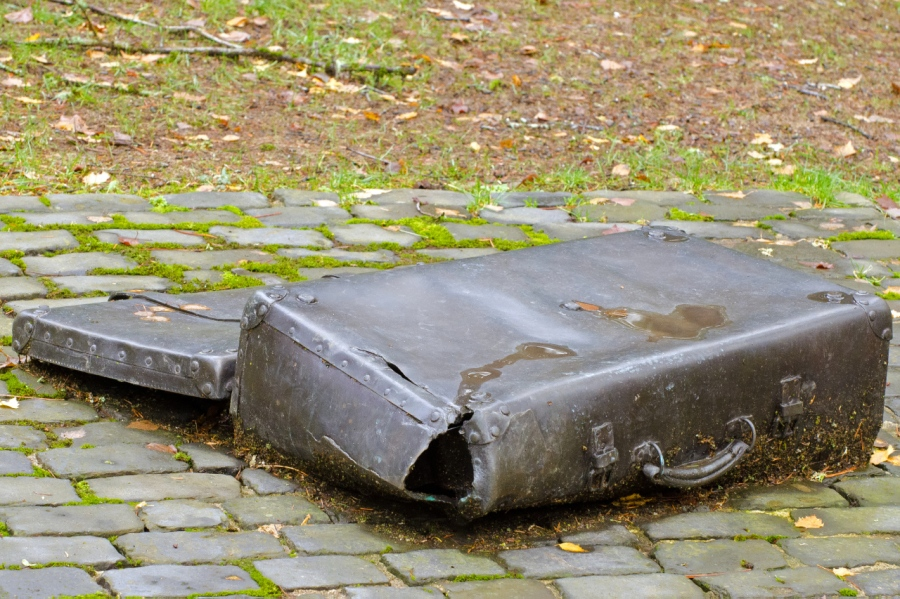 Poignant sculpture at the Holocast