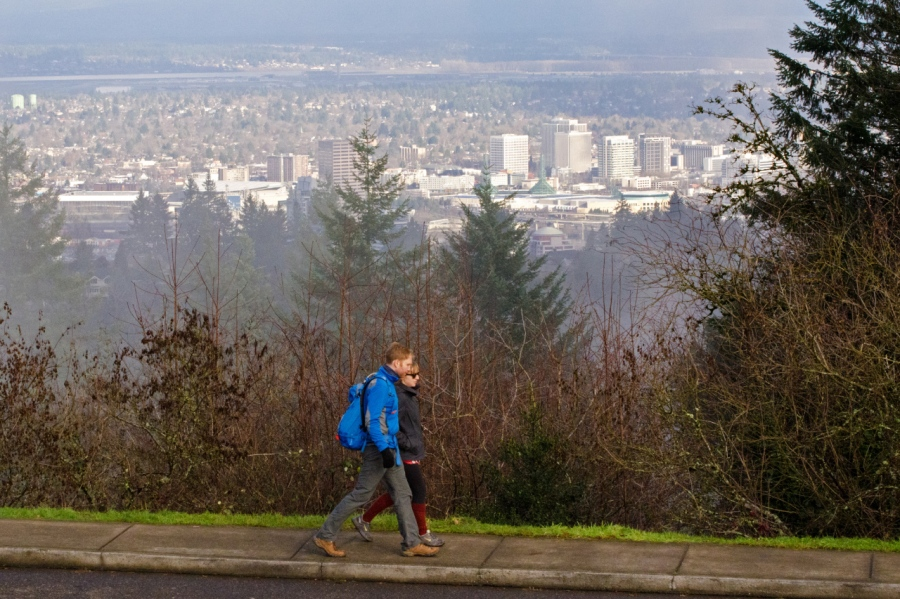 Downtown Portland from Council Crest