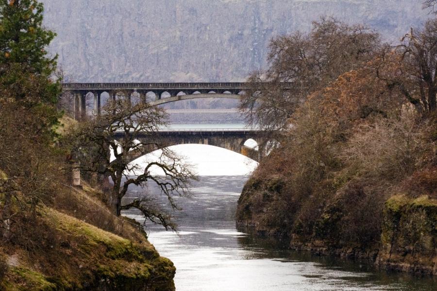 Highway 15 Bridge over the Klickitat River