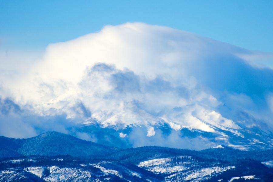 Lenticular Cloud over Mt. Hood