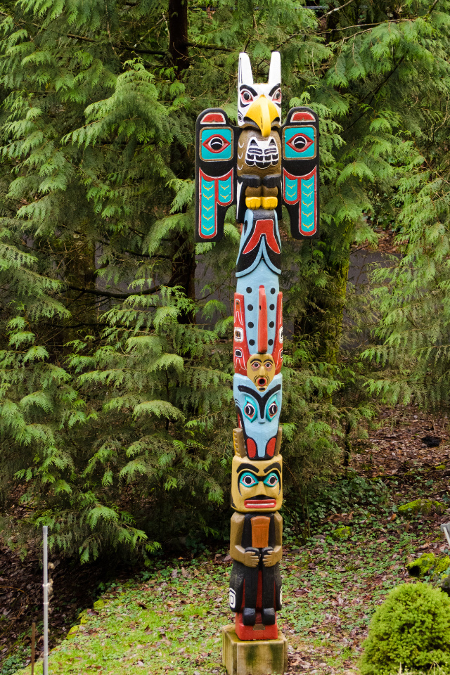 Totem Pole near the Marquam Trail