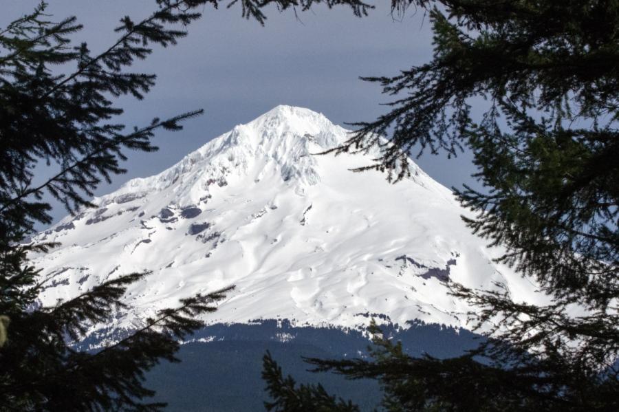 Mt. Hood is nearby
