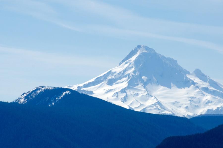 Mt. Hood behind Tanner Butte