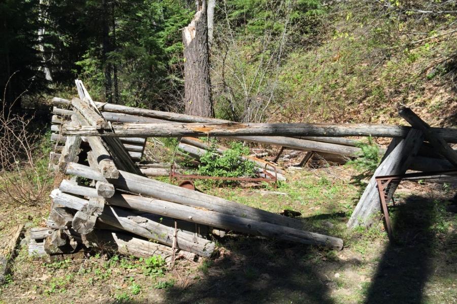Old Kinzel cabin