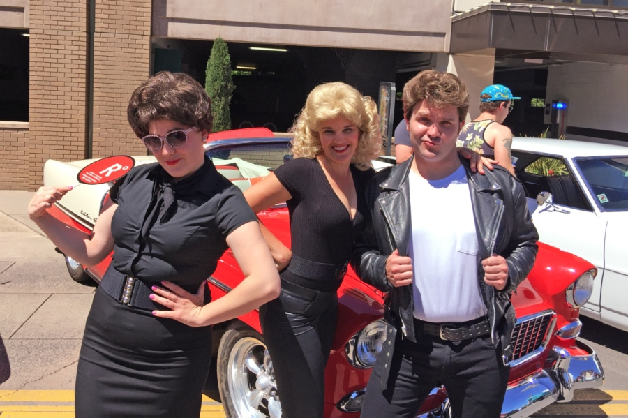 Marilyn, Olivia Newton John, John Travolta and Vintage Autos