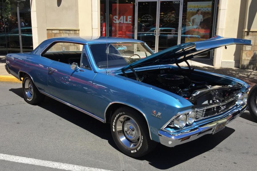 396 Chevelle, a '60s powerhouse