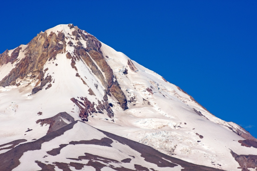 Copper Spur and Eliot Glacier on Mt. Hood