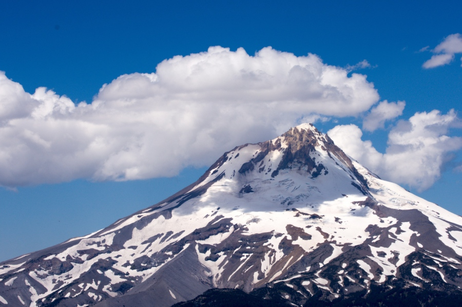 Mt. Hood creates its own weather due to its height