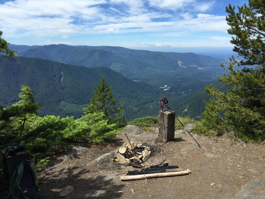 Old fire lookout site