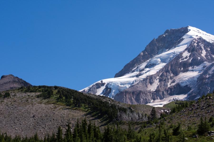 Barrett Spur and Coe Glacier
