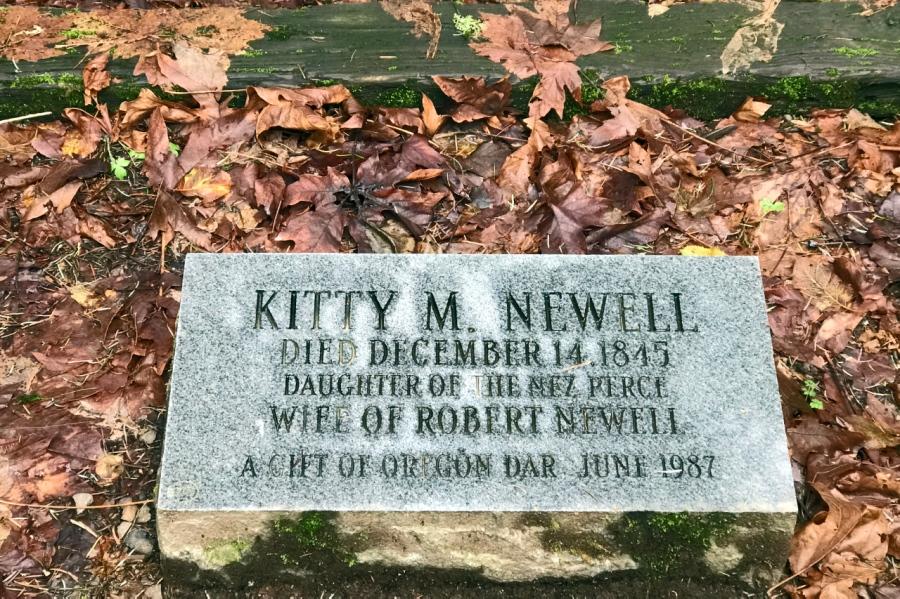 Pioneer woman's grave site