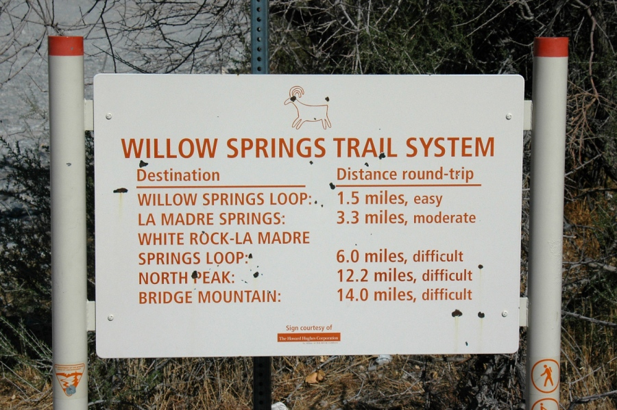 Well-maintained trail system